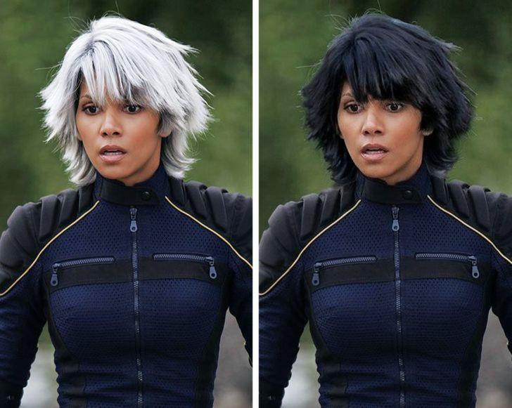 როგორები იქნებოდნენ ცნობილი კინოგმირები მსახიობებს გადაღებებისთვის თავიანთი ბუნებრივი თმის ფერი რომ დაეტოვებინათ