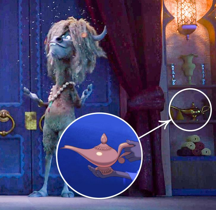 Disney-ს ანიმაციები, რომლებშიც სტუდიის სხვა მულტფილმების პერსონაჟებიც ჩნდებიან