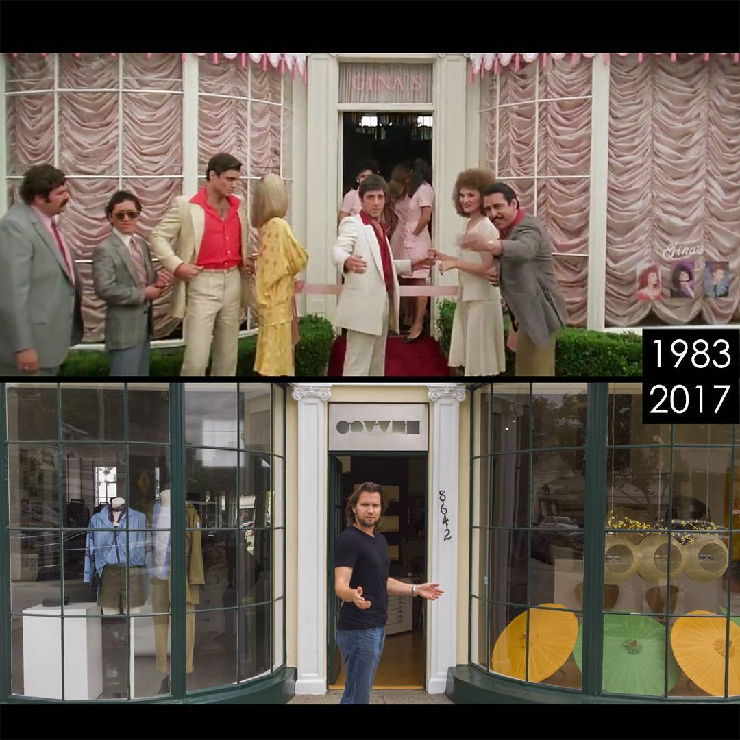 როგორ გამოიყურება დღეს ის ადგილები, სადაც პოპულარული ფილმების საკულტო სცენები გადაიღეს