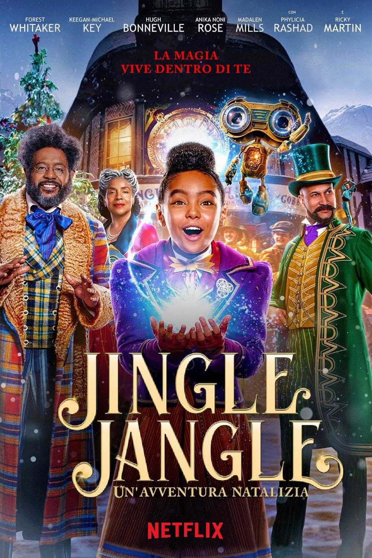 ჯენგლი: საშობაო მოგზაურობა / Jingle Jangle: A Christmas Journey