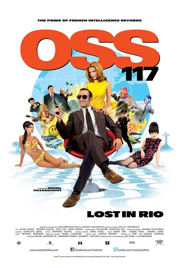 აგენტი 117:რიოში დაკარგული / OSS 117: Lost in Rio