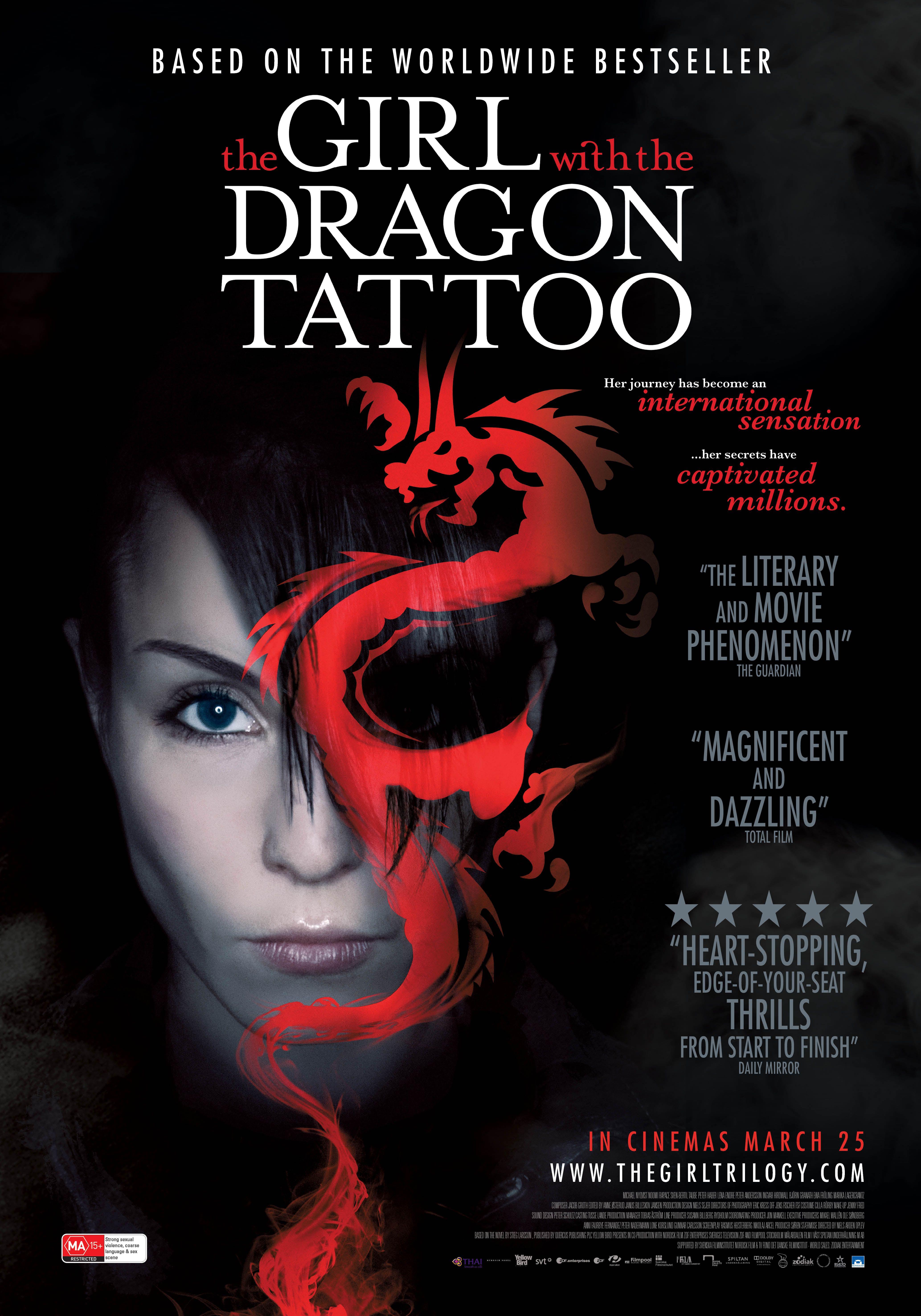გოგონა დრაკონის ტატუთი / The Girl with the Dragon Tattoo