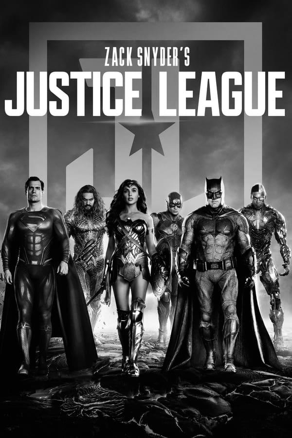 ზაკ სნაიდერის სამართლიანობის ლიგა (B&W) / Zack Snyder's Justice League (B&W)