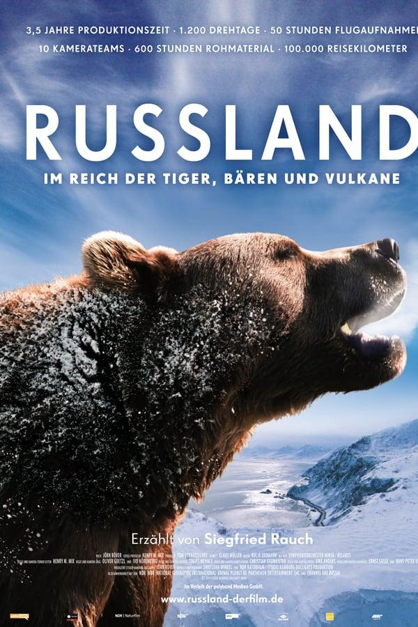 რუსეთი - ვეფხვების, დათვებისა და ვულკანების ბატონობაში / Russland - Im Reich Der Tiger, Baren Und Vulkane