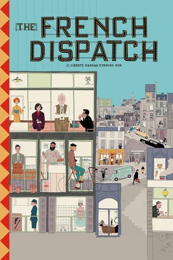 ფრანგული მაცნე / The French Dispatch